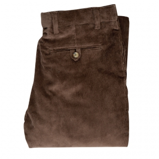Pantalon velours marronT38