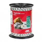 Fil Top Line plus 400m Blc/noir 6*0.25mm