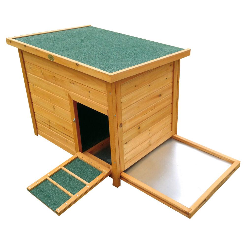 abri pour 2 5 canards ou poules ducatillon. Black Bedroom Furniture Sets. Home Design Ideas