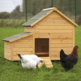 vive l 39 levage poulailler confort en bois de pin poubelle. Black Bedroom Furniture Sets. Home Design Ideas