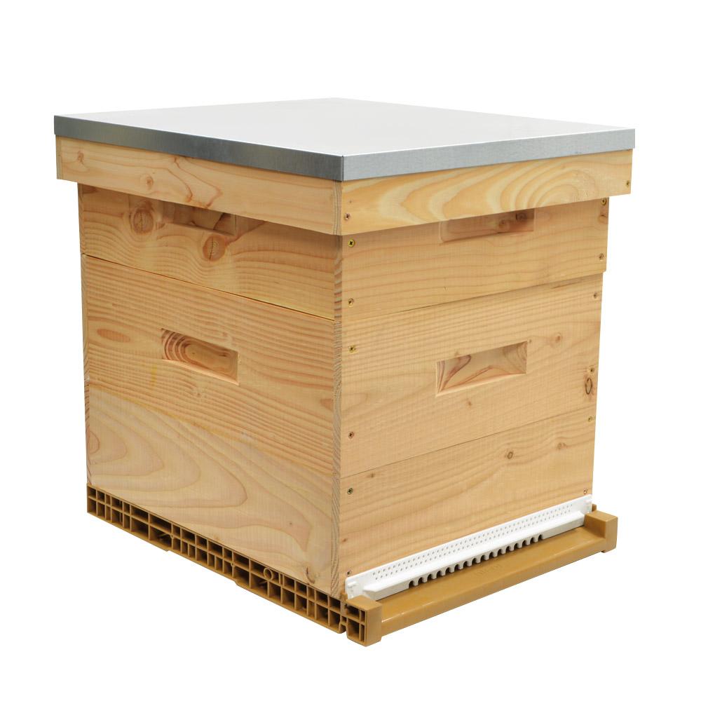 vive l 39 levage ruche dadant haut de gamme bois douglas. Black Bedroom Furniture Sets. Home Design Ideas