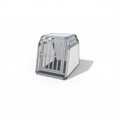 Cage de transport chien premium