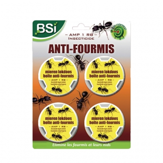 Lot de 4 boites anti fourmis